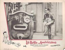 La Belle Americaine 1962 11x14 Lobby Card #4