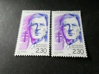 FRANCE 1990, VARIETE COULEURS, timbre 2634a, DE GAULLE, neuf**, MNH STAMP