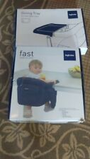 Inglesina Baby Toddler Fast Hook-On Table Chair Dining Tray Purple Fuchsia