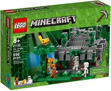 LEGO 21132 * MINECRAFT * THE JUNGLE TEMPLE * NEW IN DENTED, SEALED BOX *