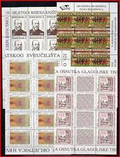 CROATIA 1990's WHOLESALE STOCK of 193 MNH STAMPS (K-J18)