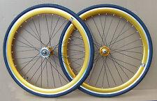 NOLOGO GOLD Single Speed wheelsets Fixed Fixie 700c flip-flop hub Wheelsetsz
