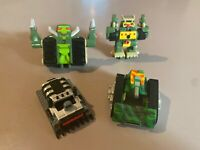 Vintage Galoob Micro Machines ZBots and extras