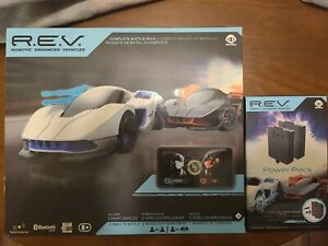 REV Robotic Enhanced Vehicles Complete Battle Pack 2 cars New with 2 Power Packs