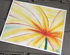 "12x16"" Art Print ""Macro Flower"" By Artist Anthony Sheaffer"