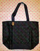 NWT Victoria's Secret PINK Limited Edition 2020 Black Friday Black Logo Tote Bag