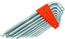PB SWISS TOOLS 3212.LH-10 Sechskant Stiftschlüssel, gekordelt, hex keys, metric