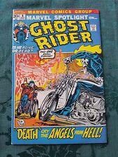Marvel Spotlight #6 VFto VF+ 2nd app. of Ghost Rider