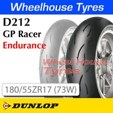 Dunlop D212 GP Racer Endurance 180/55ZR17 (73W) TL Rear