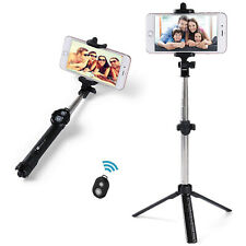 Universal Extendable Bluetooth Selfie Stick Tripod for All Phone Remote Control
