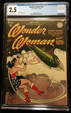 1948 DC Wonder Woman #32 CGC 2.5 Off White Pages