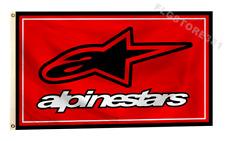 Alpinestars Flag Banner 3X5Ft Motorcycles Motorsports Bikes Flag