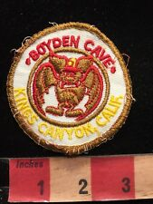 Vintage BOYDEN CAVE KING'S CANYON NATIONAL PARK California Patch 84I5