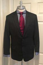 Bespoke Dark Gray 100% Merino Wool  2 Button Suit, Made By Kim & Pae Custom 40R