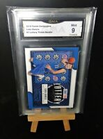 Mint 9 Luka Doncic Rookie 2018 Panini Contenders #3 Lottery Ticket GMA Graded RC