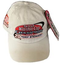 2002 NASCAR Winston Cup Champion Tony Stewart Hat Cap New w/tag Chase
