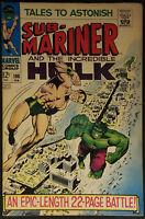 Tales to Astonish #100 FN/VF 7.0 1968 Hulk Sub Mariner Silver Age Key Issue!
