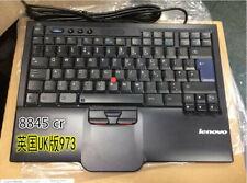Genuine Lenovo ThinkPad UltraNav USB Keyboard Trackpoint SK Newest 8845cr UK973