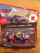 NEW Disney Pixar Cars 2 Max Schnell w/ Rubber Tires K Mart Day 7 Exclusive
