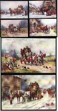 Hand Coloured/ Painted Pre - 1914 Collectable Postcards