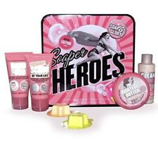 Soap and Glory Collectors Tin Soaper Heros Travel Set in Original Pink Scent.