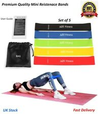Yoga Resistance Band Stretch Loop Gym Fitness Exercise Elastic Rubber Rope Strap