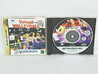 VIRTUAL VOLLEYBALL Sega Saturn Japan ss