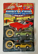 Lot of 2 1969 Oldsmobile 4-4-2 Johnny Lightning JL 1/64 Muscle Cars USA 1994