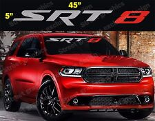 SRT-8 Windshield Vinyl Decal Sticker (2 COLORS)