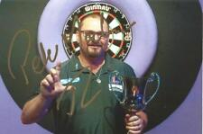 Darts: Peter Machin Signed 6x4 Portrait Photo+Coa