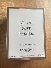 Lancome La Vie Est Belle 50 ml L 'Eau de Parfum RRP £ 69 Genuino