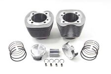 """Vtwin 103"""" Twin Cam Silver Cylinder 9:1 Piston Big Bore Kit Harley 07-10 FLHT"""