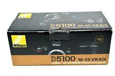 Nikon D5100 16.2 MP Digital SLR Camera - Black with 18-55mm kit lens