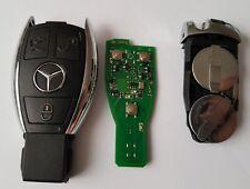 CLÉ Télécommande Mercedes classe A/ B/ C/ E / S/ ML/ CLK/ SLK/ SL 433 MHZ 3 BTN