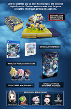 World of Final Fantasy Collector's Edition (PS4 Playstation 4)- Brand New Sealed