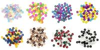 Miniature Round Craft Buttons - Trimits - 2 Hole Flat 4g Pack