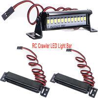 5CM Bright Light Bar For 1/10 RC Crawler Car TRX4 SCX10 KM2 CC01 LED Super Power