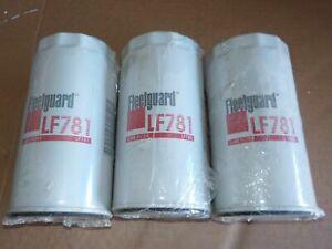 3 x FLEETGUARD LF781 Xref, B113, B295, P550227, LF16221, LF3334,