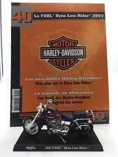 moto miniature harley davidson dyne low-rider 2002 1/18 n40/50 fascicule