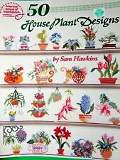 1992 American School Of Needlework House Plant Designs Cross Stitch Book3593(Cm)