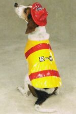 Zack & Zoey - PAWFIELD FIRE CHIEF - Halloween Dog Costume SMALL Pup Puppy NEW