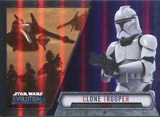 Star Wars Evolution 2016 Purple Parallel Card #67 Clone Trooper - Phase I