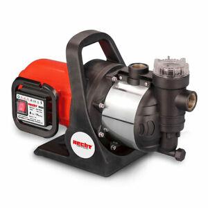 Hecht 3131 Kreiselpumpe 4600l/h 1100 Watt Wasserpumpe Gartenpumpe Hauswasserwerk