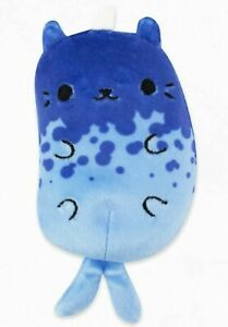 Cats vs Pickles 4-inch Beanbag Soft Plush Toy #103 Kitty Narwhal