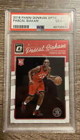 2016-17 Donruss Optic #171 Pascal Siakam Toronto Raptors RC Rookie PSA 10