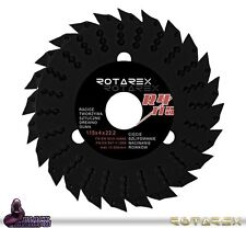 Rotarex R4 115mm Universale Disco Taglio Del Legno Lama per 11.4cm
