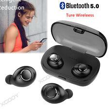 Bluetooth 5.0 Headphone Stereo Headset TWS Wireless Sport Earbuds HIFI Handsfree