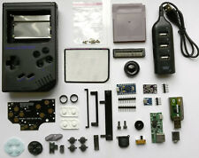 "GameBoy Zero Kit Noir & 3.5"" Gbz Verre Screen-Raspberry Pi Zero Kit Set"