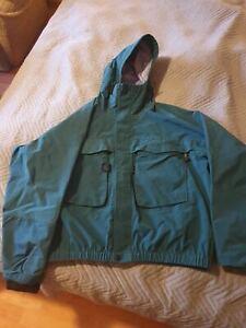 Simms Gore-tex Rain Jacket - size L