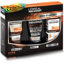 Loreal The Kick Start Kit Hydra Energetic Cream Face Wash Gel Xmas Gift Set Men